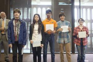 0220_UTEP Awards_25 Gorman Fam Essay-5 kids