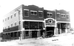 Figure 6. The Neff-Stiles Building on Santa Fe Street at the Corner with Mesa Street. Three skeletons in the area once known as Campo Santo were discovered in January 1910, while workers excavated the foundation for the E. E. Neff (later called the Neff-Stiles) warehouse. Courtesy of the El Paso County Historical Society.