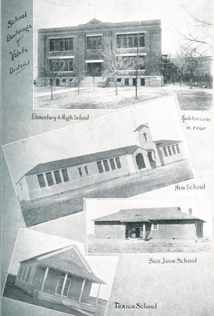 early ysleta schools