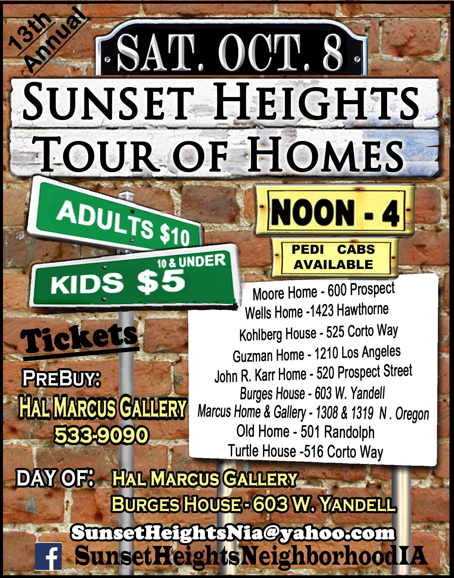 2016 Sunset Heights Tour of Homes