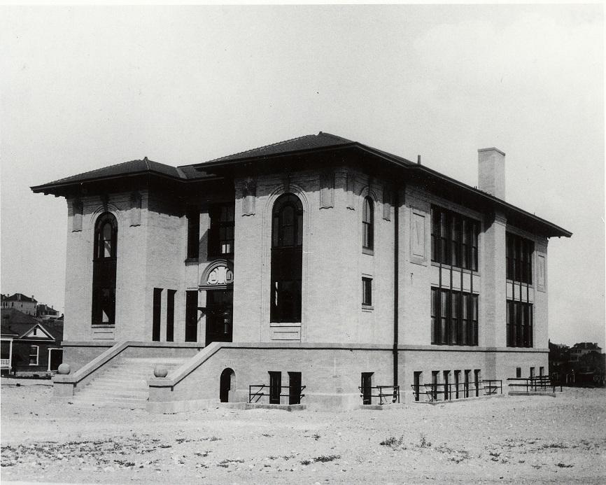 Vilas School, circa 1909.