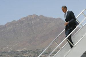 President Obama, 2011, Courtesy of the El Paso Times