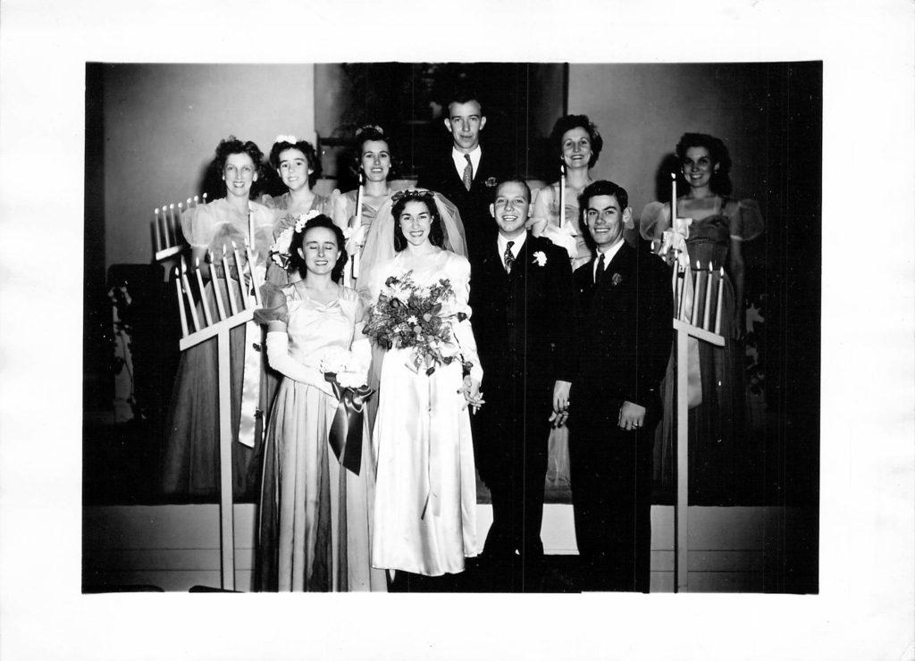 Rachel Pierce married Bearl W. Nichols in El Paso, Texas on December 4, 1945.