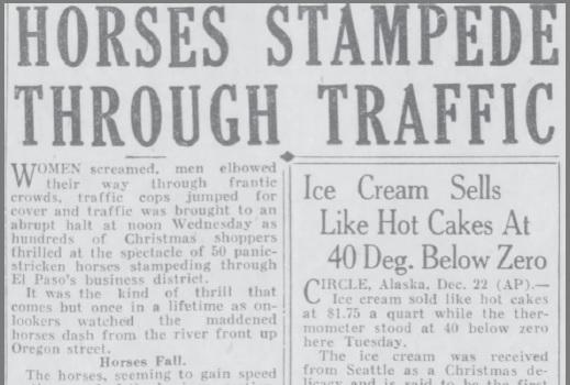 Horses Stampede Through Traffic