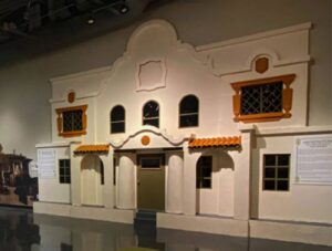 Sunset Heights Exhibit at the El Paso Museum of History.
